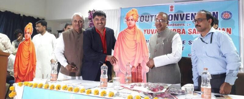 Shri Vijay Goel at Govt. Scien